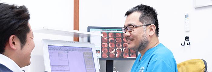 日本大腸肛門病学会専門医(肛門専門医)の医師が診察