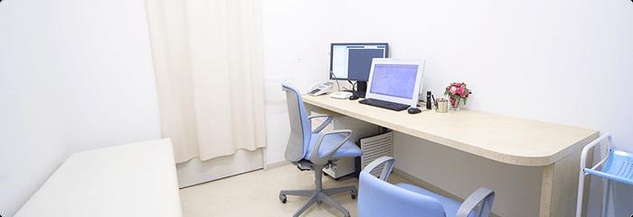 完全個室で患者様のプライバシーを守ります