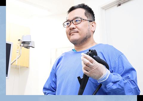 内視鏡専門医による胃カメラ検査